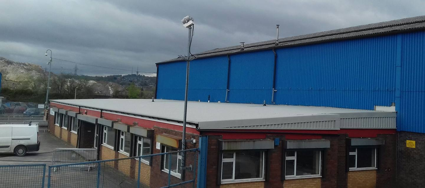 Commercial Flat Roof Conversion To Pitched Roof Cameron