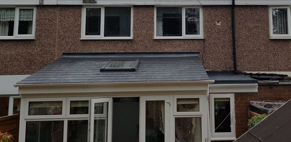 Conservatory Pitched Roof & Velux Window Installation