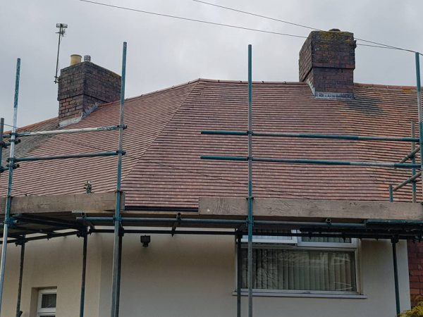Domestic Plain Tile Roof Replacement